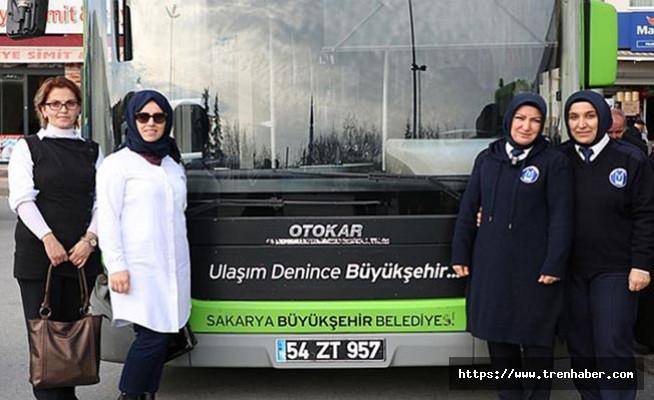 Toplu Ulaşımda Kadın Şoför Sayısı Artıyor