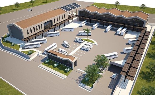 Otobüs Terminali Projesi Tamamlandı