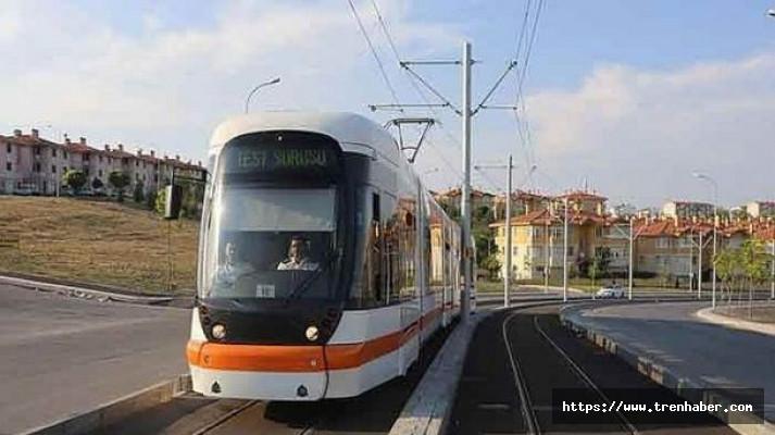 Eskişehir Şehir Hastanesi Tramvay Hattı'nda Test Sürüşleri Başladı