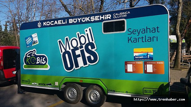 Mobil Ofis Hizmetiyle Kent Kart Alımı Kolaylaşıyor