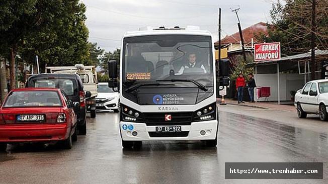 Pınarlı-Kundu Hattında Toplu Ulaşım Seferleri Başladı