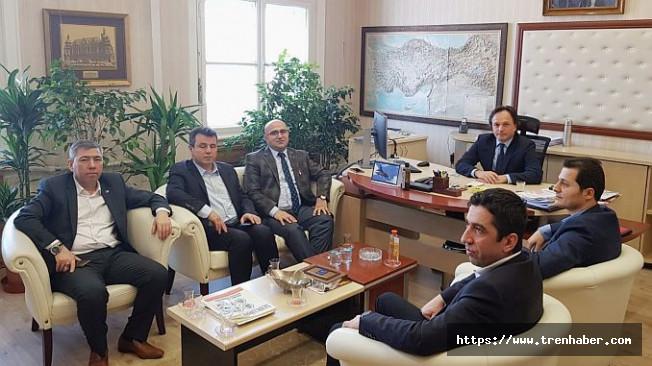 TCDD Genel Müdürü Uygun'a Hayırlı Olsun Ziyareti