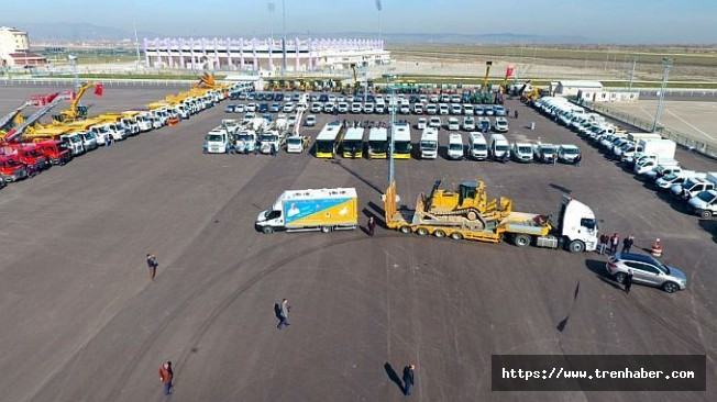 Afyonkarahisar'a 10 Yılda 118 Milyon TL Değerinde 300 Araç