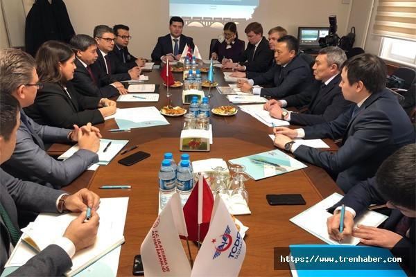 Demiryolu Sektöründe Türk-Kazak İşbirliği