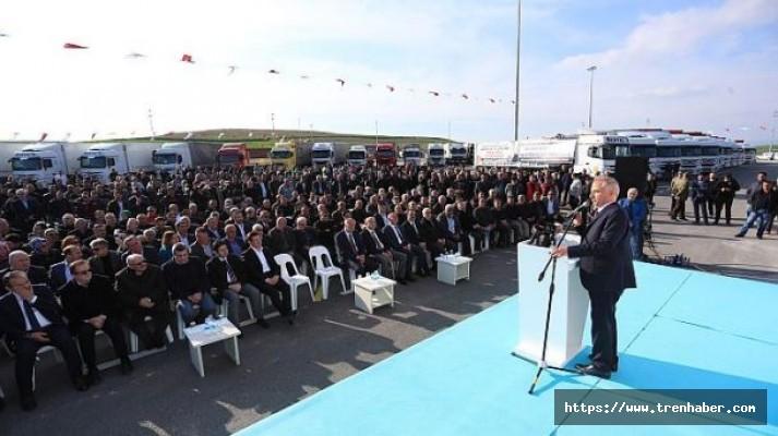 Kamyon ve Tır Garajı Açıldı