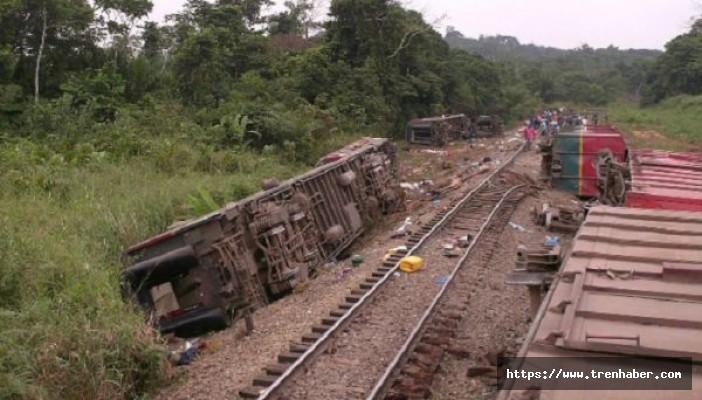 Kongo'da Tren Kazası! 24 Ölü
