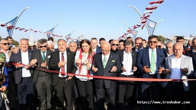 Tarsus'ta Vefa Köprüsü Açıldı