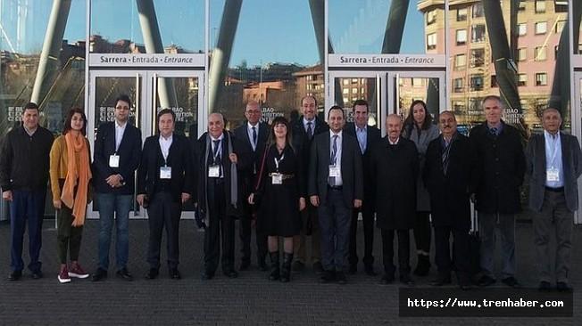 Türk Demiryolu Sanayicileri URGE Projesi Kapsamında İspanya'da
