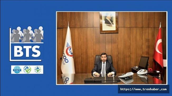 BTS, TCDD Taşımacılık Personelinin Sorunlarını Arıkan'a İletti