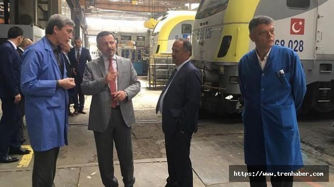 Rektör Gören TÜLOMSAŞ'ı Ziyaret Etti