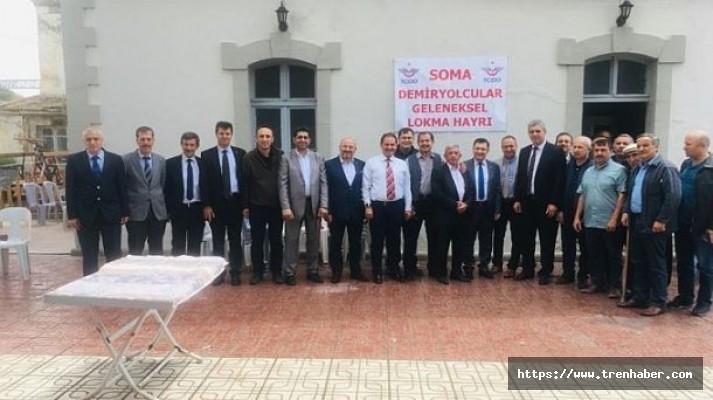 Soma Gar'da Geleneksel Lokma Hayrı