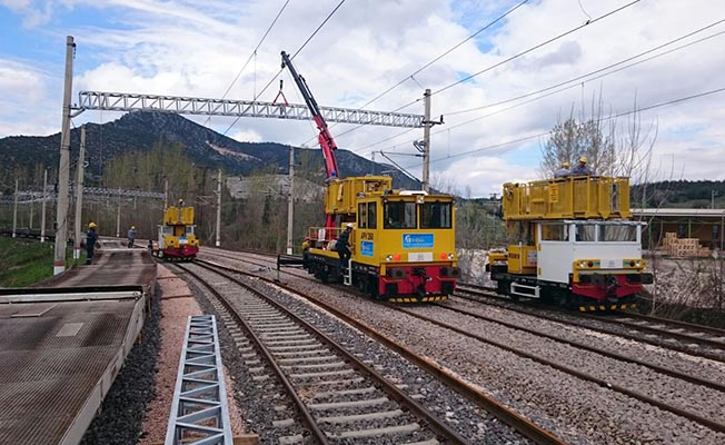 Çalışmalar Tamamlandı! Elektrikli Tren İlk Seferini Yaptı