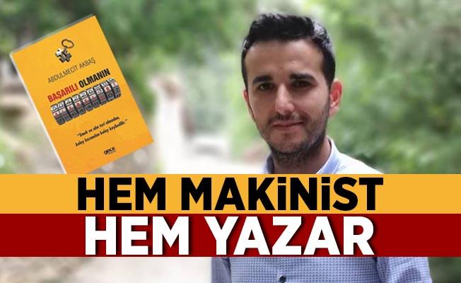 Hem Makinist Hem Yazar! Basmane Gar'da İmza Günü