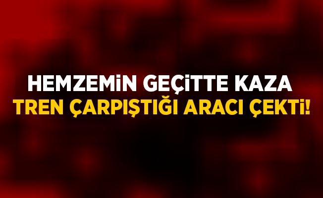 İstanbul Çatalca'da Hemzemin Geçitte Kaza! 1 Çocuk Yaralandı