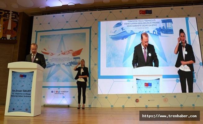İzmir'de Erişilebilir Ulaşım Çalıştayı Düzenlendi