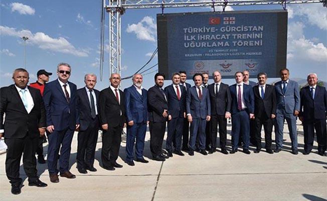 Türkiye- Gürcistan Arasındaki İlk İhracat Treni Yola Çıktı
