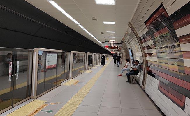Altunizade Metro İstasyonunda su baskını