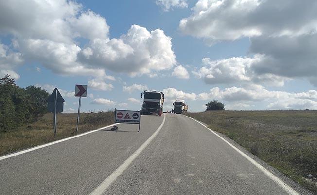 Akçaova yolu daha güvenli ve konforlu
