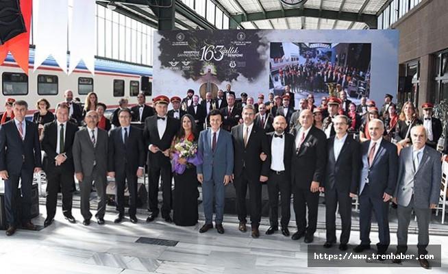 Ankara Garı'nda 163. Yıl Coşkusu