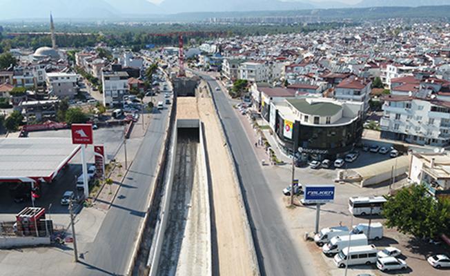 Antalya 3. Etap Raylı Sistem Projesi Tüm Hızıyla Devam Ediyor