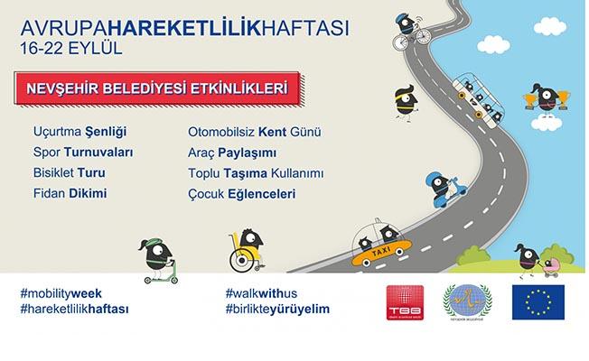 Avrupa Hareketlilik Haftası Nevşehir'de Kutlanacak