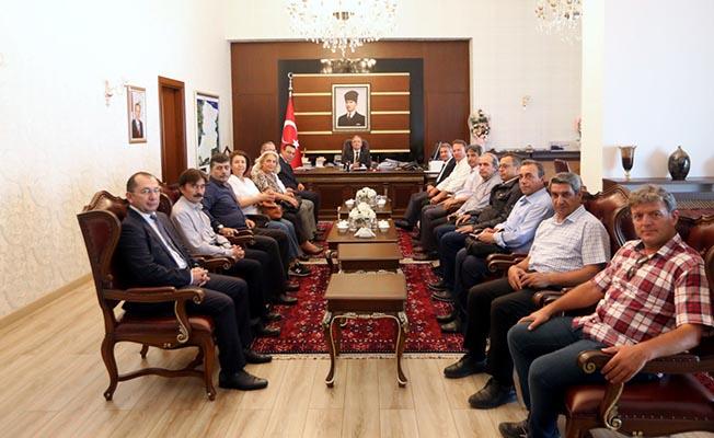 Bölge Müdürü Meriçli, Sakarya Valisi Nayir'i Ziyaret Etti