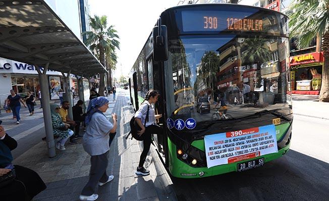 Denizli'de Okullar açılıyor, otobüs hatları ve sefer sayıları artıyor