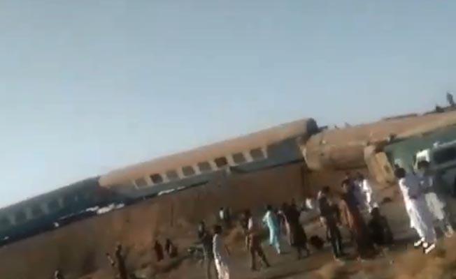 İran'da tren kazası: 4 ölü, 35 yaralı
