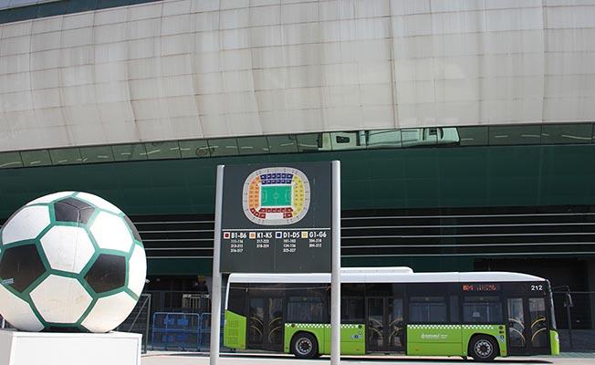 Kupa Maçına Özel Otobüs Seferleri