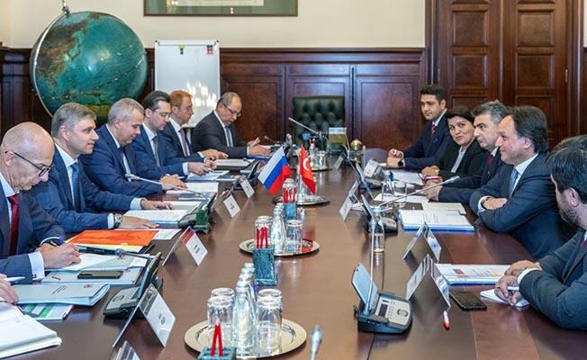 TCDD ve Rus Demiryolları RZD Yapılabilecek İşbirliklerini Görüştü