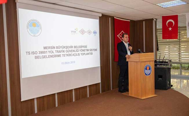 Mersin Büyükşehir Belediyesi, Yol Trafik Güvenliği Belgesini Alan Türkiye'de İlk Kamu Kurumu Olacak