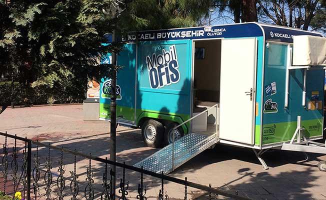 Mobil Ofis Karavanı 1 Hafta Boyunca Karamürsel'de