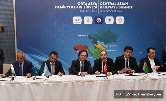 Orta Asya Demiryolları Zirvesi Yapıldı