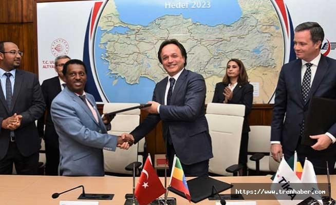 TCDD ile Etiyopya Demiryolları arasında İşbirliği