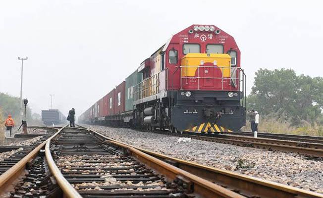 Çin Treni Ankara'ya Geliyor