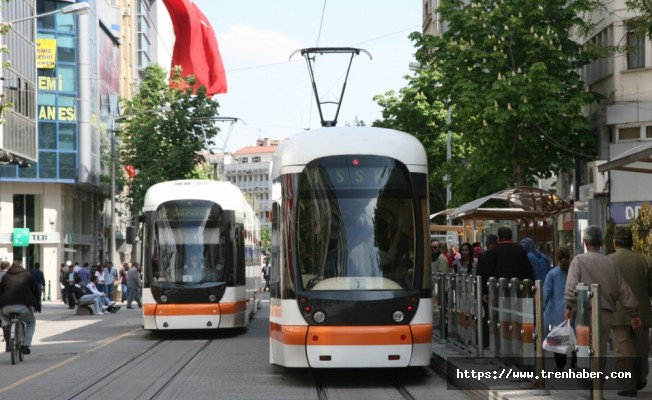 Eskişehir'de Opera ve Otogar Hattında Tramvay Seferleri Başlıyor