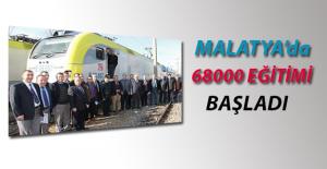 Malatya'da 68000'lik Eğitimi Başladı