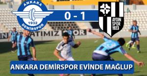 Ankara Demirspor Evinde 1-0 Mağlup Oldu