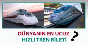 En Ucuz Hızlı Tren Bileti Türkiye'de
