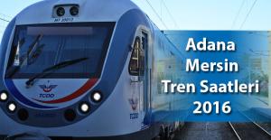 Adana Mersin Tren Saatleri 2018 TCDD | Adana-Mersin Bilet Fiyatları