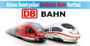 Alman Demiryolları ve Almanya Demiryolu Haritası