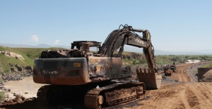Muş-Elazığ Demiryolu Şantiyesine PKK Baskını