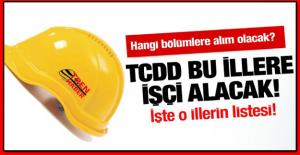 TCDD Kütahya'da Eski Hükümlü İşçi Personel Alımı Yapacak 2016