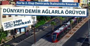 Yapı Merkezi Fasda Tramvay İhalesi Kazandı