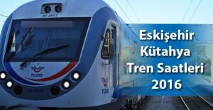 Eskişehir Kütahya Tren Saatleri 2016 Güncel