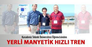 Trabzon'dan Yerli Manyetik Hızlı Tren Projesi