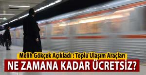 Ankara'da Metro ve Ankaray ne zamana kadar ücretsiz