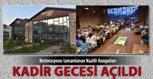 Restorasyonları tamamlanan Nazilli Gar Hangar binaları Kadir Gecesi açıldı