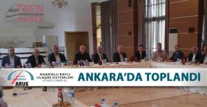 ARUS Yönetimi Ankara'da Toplandı