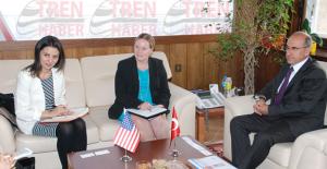 ABD Büyükelçiliği Ticaret Ataşesi'nden TCDD'ye Ziyaret